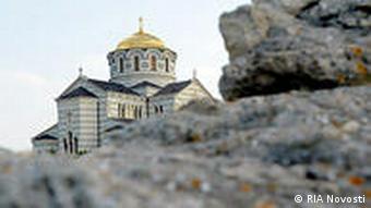 Ukraine Land und Leute Wladimirkathedrale in Sewastopol