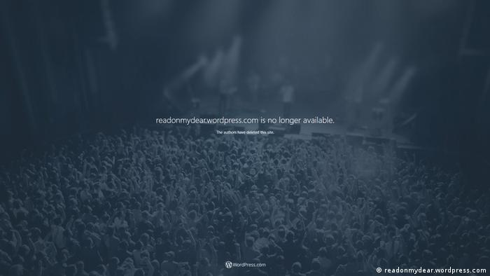 Screenshot Blog readonmydear