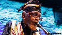 US free jazz alto saxophone player Marshall Allen (moers festival)