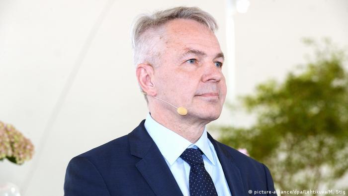 Finnland Pressekonferenz zum Regierungsprogramm | Pekka Haavisto