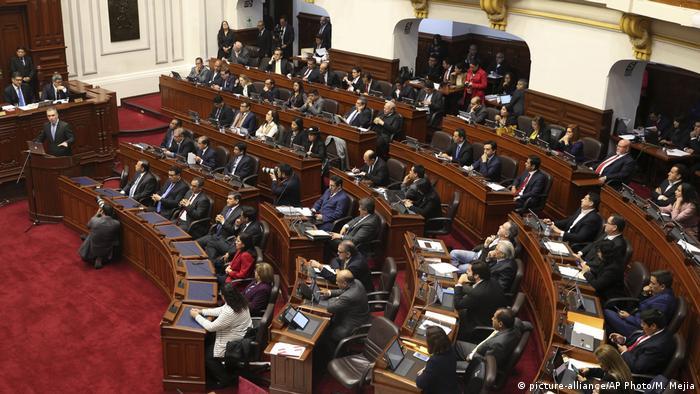 El fragmentado Congreso está dominado por una frágil mayoría de la fujimorista Fuerza Popular y otros grupos minoritarios
