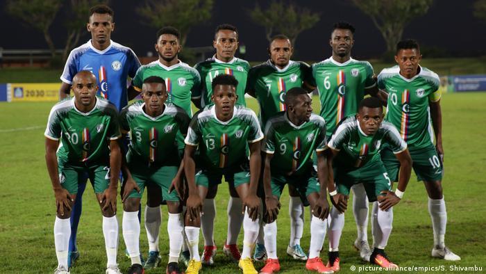 Fußball 2019 Cosafa Cup Nationalmannschaft Komoren