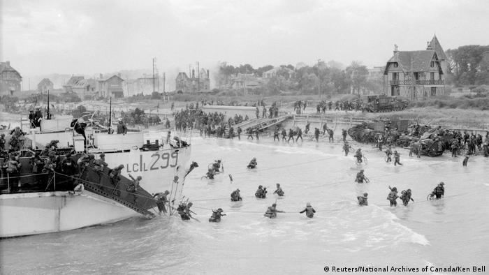 D-Day Archivbilder Juno Beach