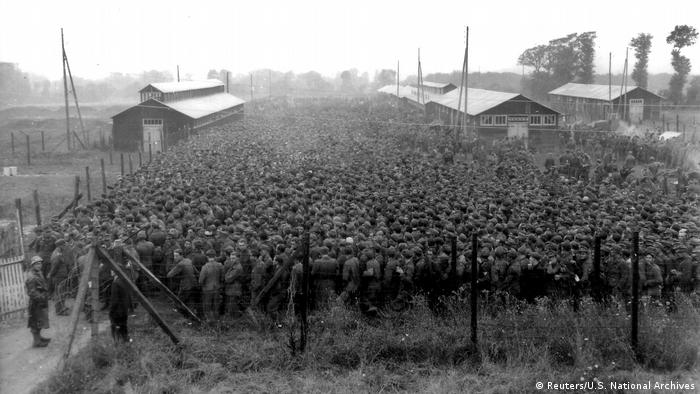 D-Day Archivbilder deutsche Soldaten in Nonant-le-Pin