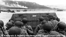 D-Day Archivbilder Omaha Beach