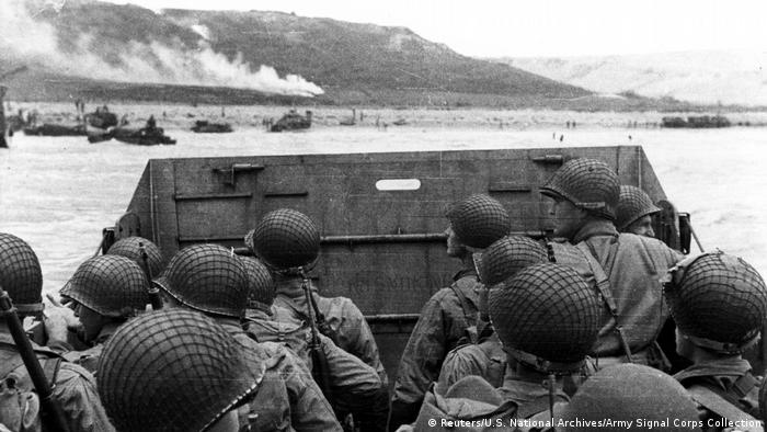Бийч Омаха - там се сражават американски войници