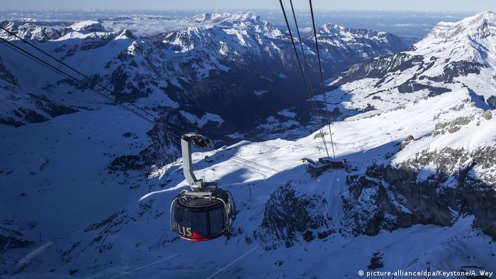 Swiss gondola cables injure workers at Titlis mountain resort