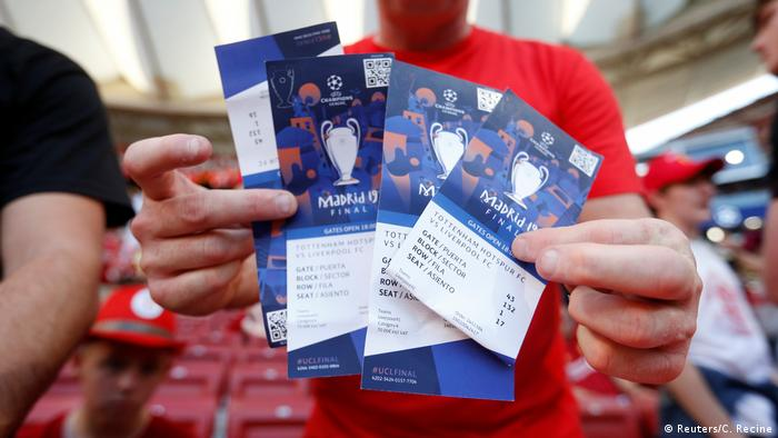 Champions League Final Ticket Stolen Tough Luck Uefa