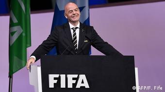 FIFA President Gianni Infantino (AFP/F. Fife)