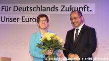 Octavian Ursu Vorsitzender des CDU Kreisverbandes Görlitz und CDU-Bundesvorsitzende Annegret Kramp-Karrenbauer