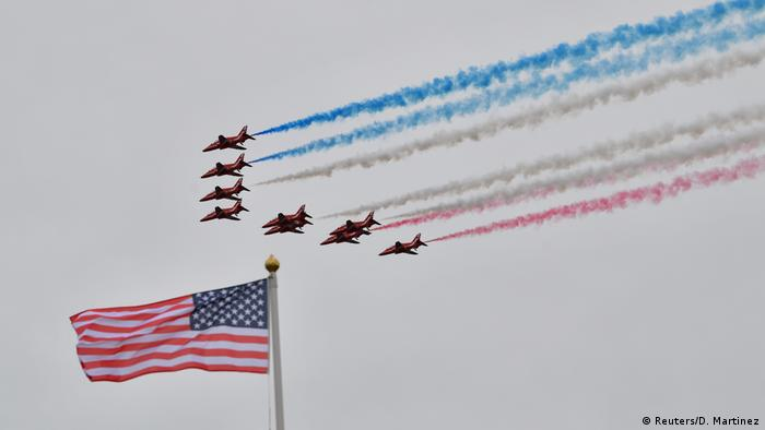 Jets at Portsmouth D-Day ceremony
