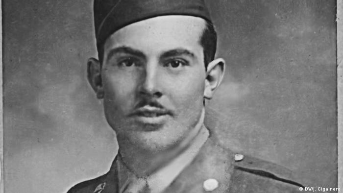 US Army soldier Ray Lambert