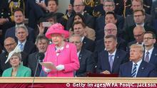 UK Gedenkveranstaltung zum 75. Jahrestag des D-Day in Portsmouth