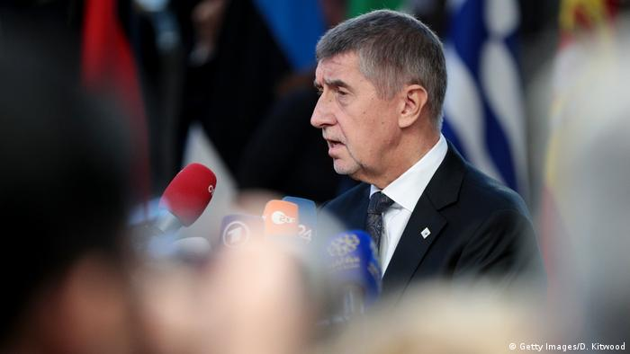 Czech Republic's Prime Minister Andrej Babis arrives at the European Council for the start of the two day EU summit on December 13, 2018 in Brussels, Belgium