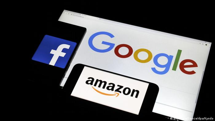 USA Regulierung Big Tech Symbolbild (picture-alliance/dpa/Kyodo)