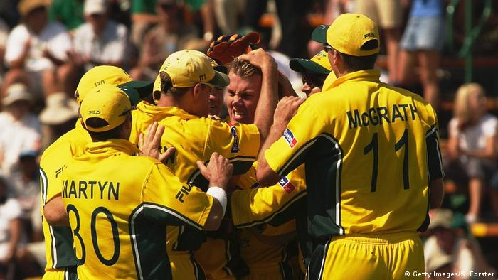 Cricket World Cup Gewinner 2003 Australien (Getty Images/S. Forster)