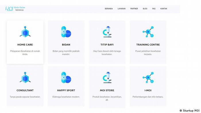 Angebote von MOI (Startup MOI)