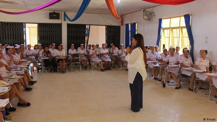 Krankenschwester-Training von MOI (Privat)