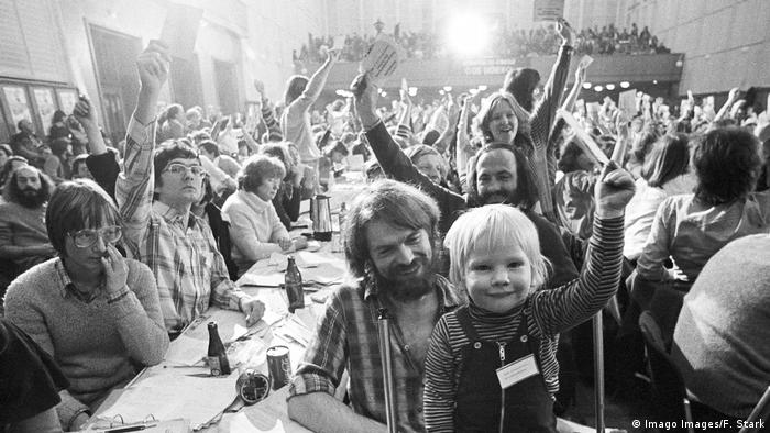 Gründungsparteitag der Grünen (Imago Images/F. Stark)