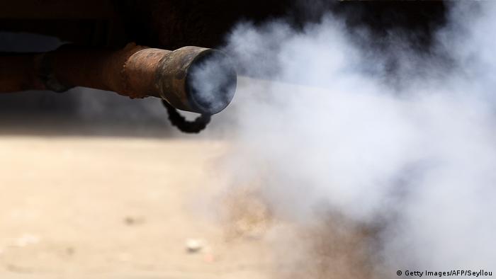 Senegal Luftverschmutzung in Dakar (Getty Images/AFP/Seyllou)