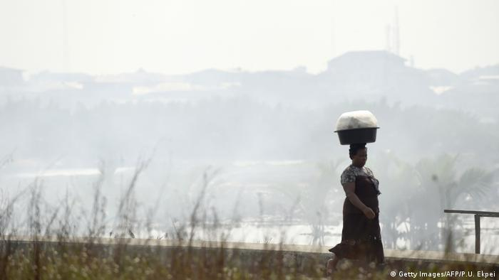 Смог в Нигерии. Фото из архива