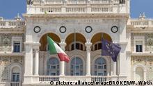 Symbolbild Italien EU Flagge