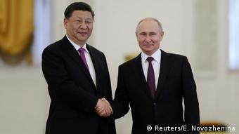 Си Цзиньпин и Владимир Путин, фото из архива