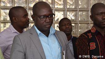 Guinea-Bissau Júlio Mendonça, UNTG trade union center