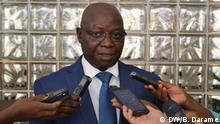 President of the Supreme Court of Justice of Guinea-Bissau, Paulo Sanhá Location: Bissau Date: 05.06.2019 Author: Braima Darame, DW Discipline: Paulo Sanhá STJ Bissau
