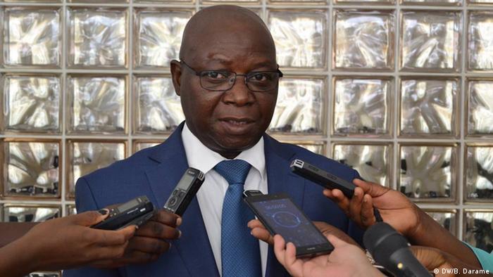 Guinea-Bissau, Paulo Sanhá, Präsident Oberster Gerichtshof (DW/B. Darame)