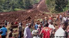 Uganda Erdrutsch in Shisakali, Bududa