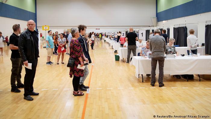 Dänemark Parlamentswahl 2019 | Wahllokal in Viborg