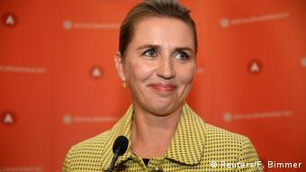 Denmark's Mette Frederiksen