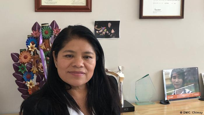 Marcelina Bautista (DW/C. Chimoy)