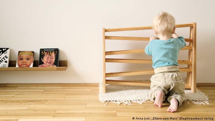 """Pressebilder Einfach Familie leben (Anna Jost, """"Eltern vom Mars"""" Blog/Knesebeck Verlag)"""