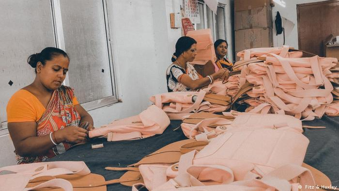 Fitz & Huxley's employees in India at work