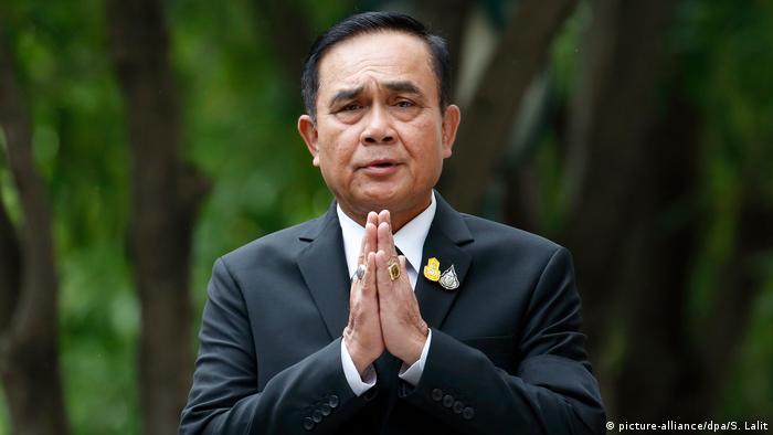 Thailand Prayuth Chan-ocha zum neuen Premierminister gewählt