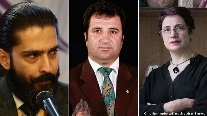 امیر سالار داودی، نسرین ستوده و محمد نجفی