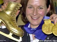 Sürat patenci Claudia Pechstein'ın kariyeri başarılarla dolu