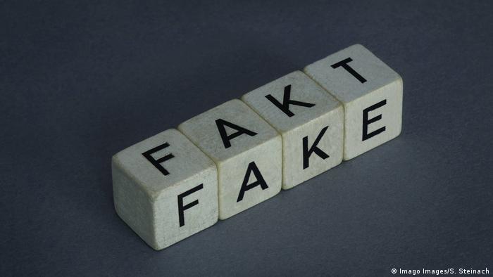 Symbolbild - Fake / Fakt
