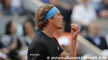 Frankreich Tennis French Open Alexander Zverev