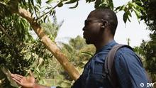 Im Bild: Kemo Fatty, Umweltaktivist aus Gambia Schlagwörter: Eco Africa, Gambia, Kemo Fatty