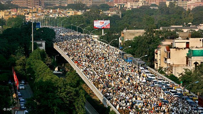 Farmer Proteste Bauern Indien Neu Delhi Flash-Galerie (AP)