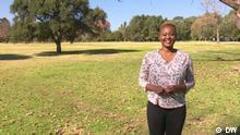 DW Sendung Eco Africa - Zihlo Ndlovu, Moderatorin von Eco Africa