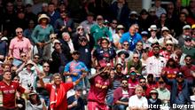 Cricket - ICC Cricket World Cup - Australia v West Indies - Trent Bridge, Nottingham, Britain - June 6, 2019 West Indies' Jason Holder catches to ball to dismiss Australia's Mitchell Starc Action Images via Reuters/Andrew Boyers