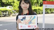 Japan Petition zum Verbot weiblicher Kleiderordnungen mit Stöckelschuhe