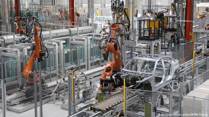 BMW production facility San Luis Potosi, Mexico (picture-alliance/dpa/BMW Group)