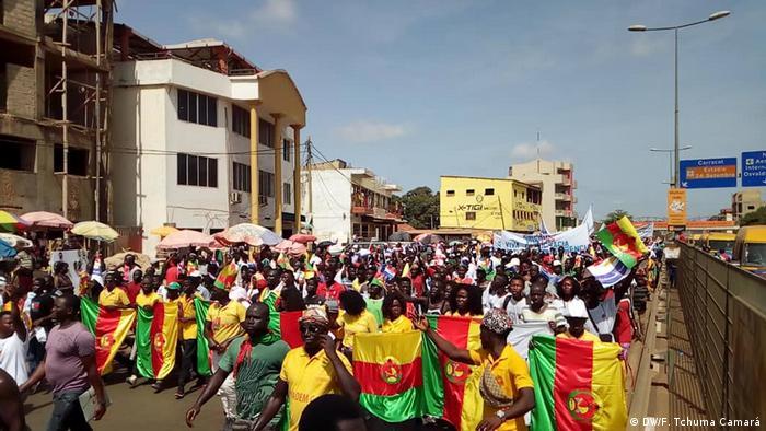 Guinea-Bissau Bissau- Oppositionsparteien PRS und MADEM
