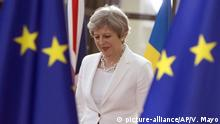 Belgien, Brüssel: Theresa May