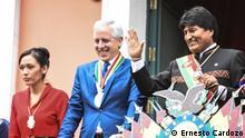 3) Titel: La presidenta del senado boliviano Adriana Salvatierra - DW, Adriana Salvatierra, Senado, Bolivia, MAS - Ernesto Cardozo Zulieferung: Diego Gonzalez -Rechte hat die DW